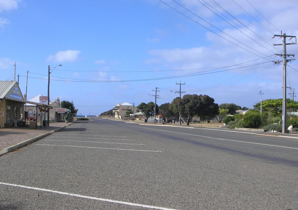 The main street of Hopetoun