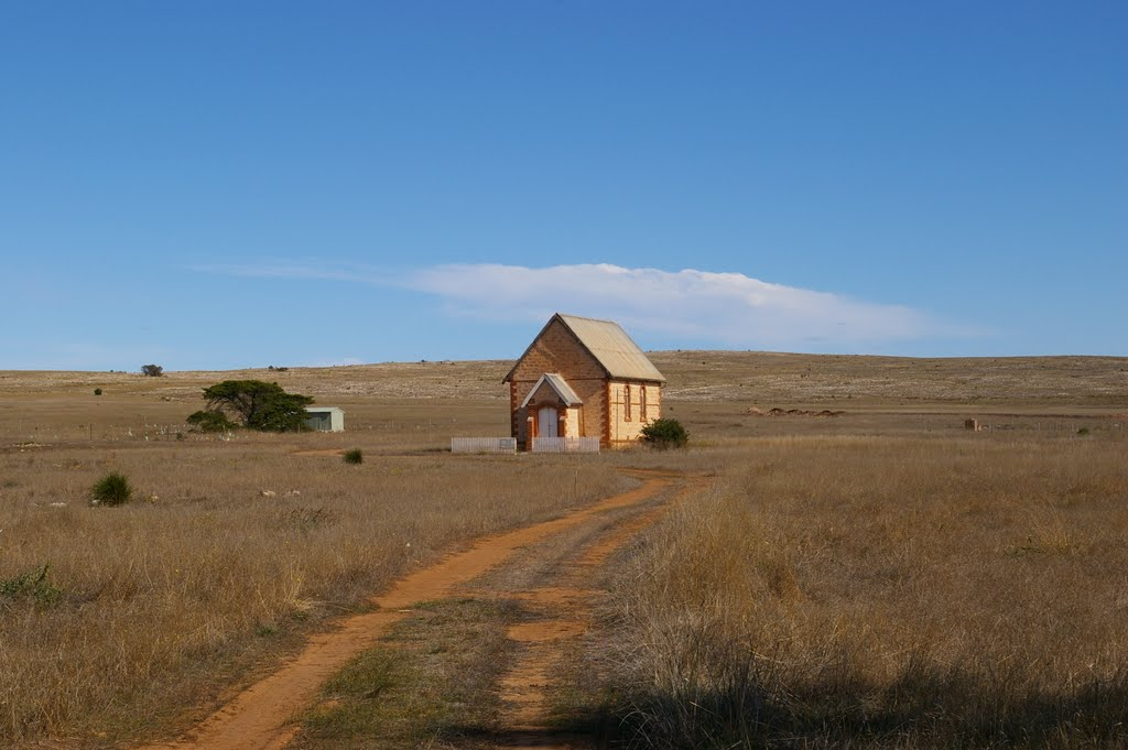 Small Church in the middle of nowhere