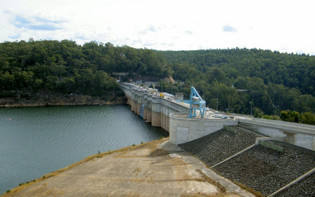 Warragamba Dam wall upgrade