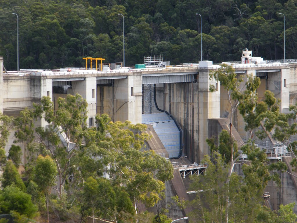 Warragamba Dam Wall