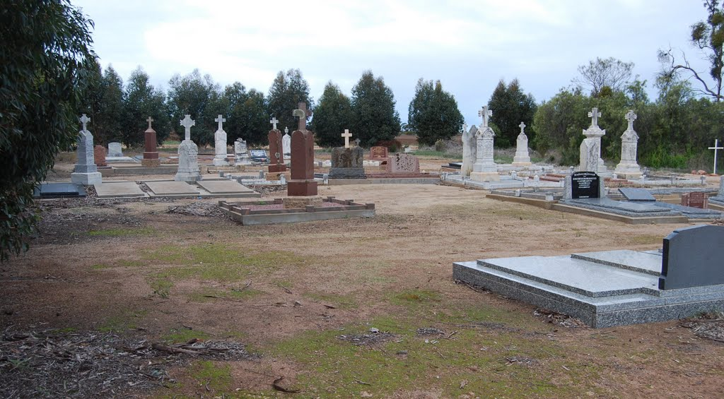 Catholic Cemetery - eastern view