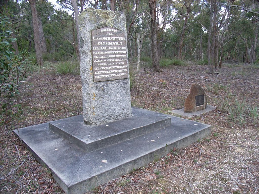 Thomas Burke memorial near Piggoreet