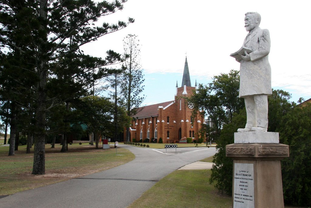 Apostolic Cathedral, Hatton Vale is the centre of Apostolic Church in Queensland that was founded by Pastor Neimeyer