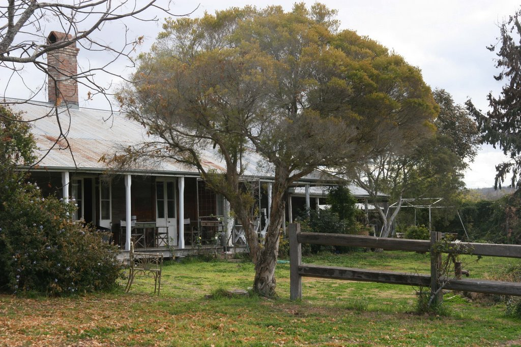Historic Booubyjan Homestead owned by Michael & Stephanie Lawless