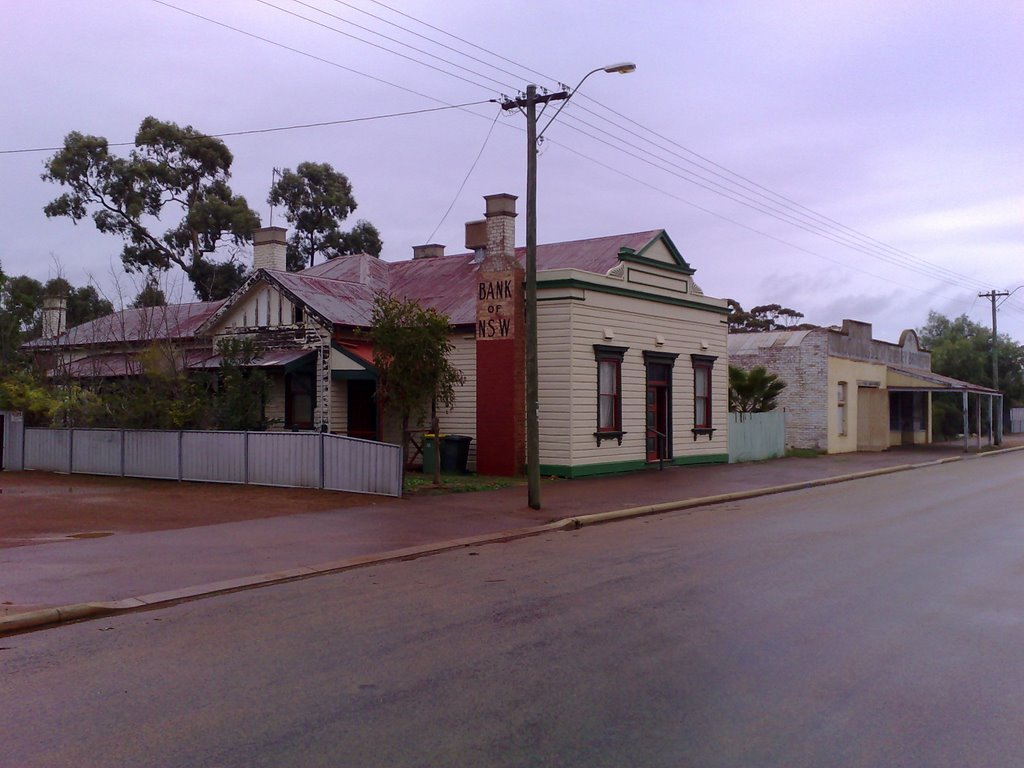 Kununoppin (Old Bank Of NSW)