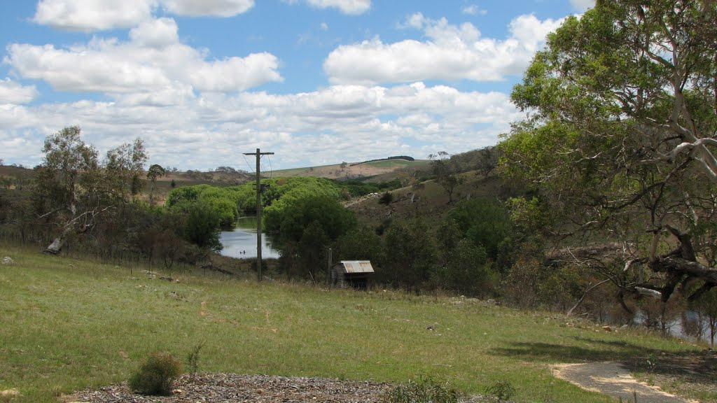 Bombala Platypus Reserve, looking west