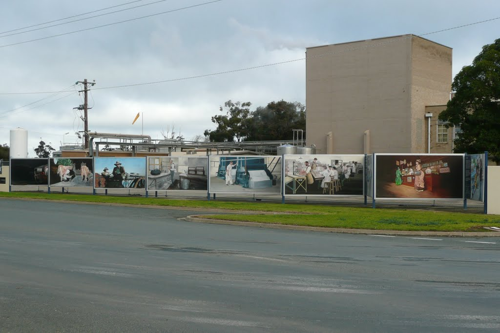 Nestle Factory Mural, Tongala