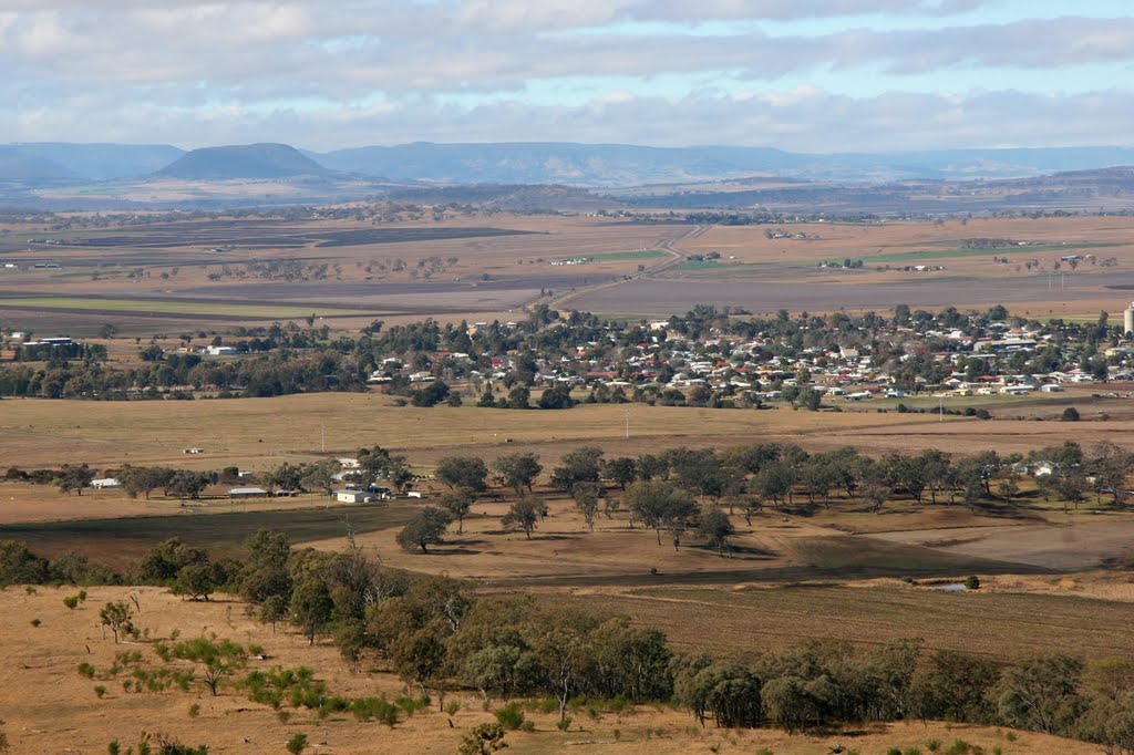 Recreational Flight over the Eastern Darling Downs: Allora