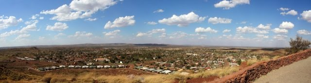 Panoramic view of Newman