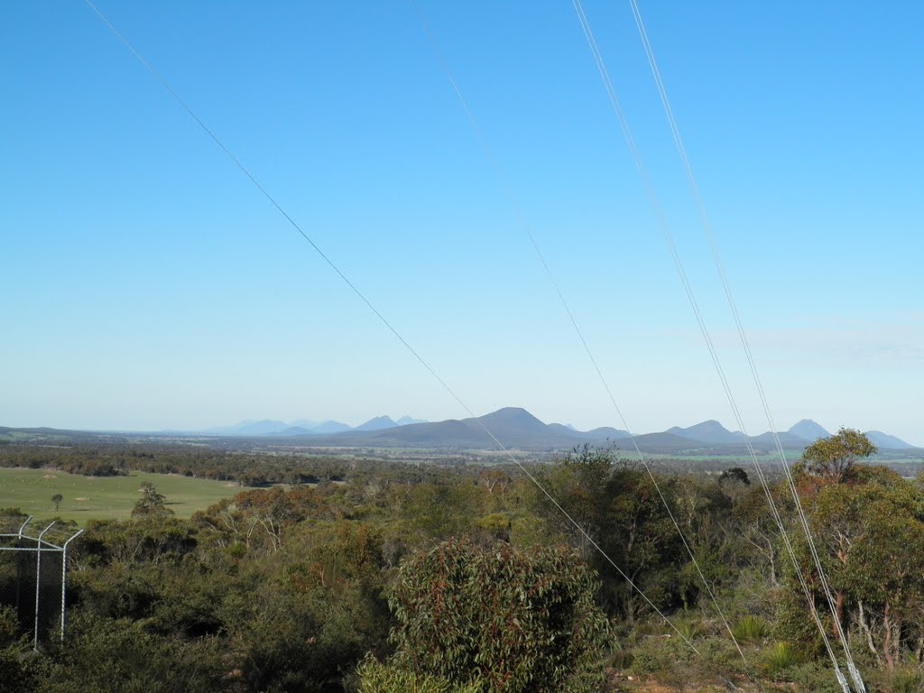 The Stirling Ranges from Sukey Hill