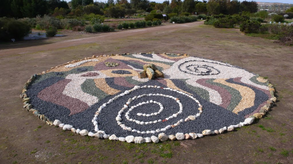 Mandala at Bushgarden
