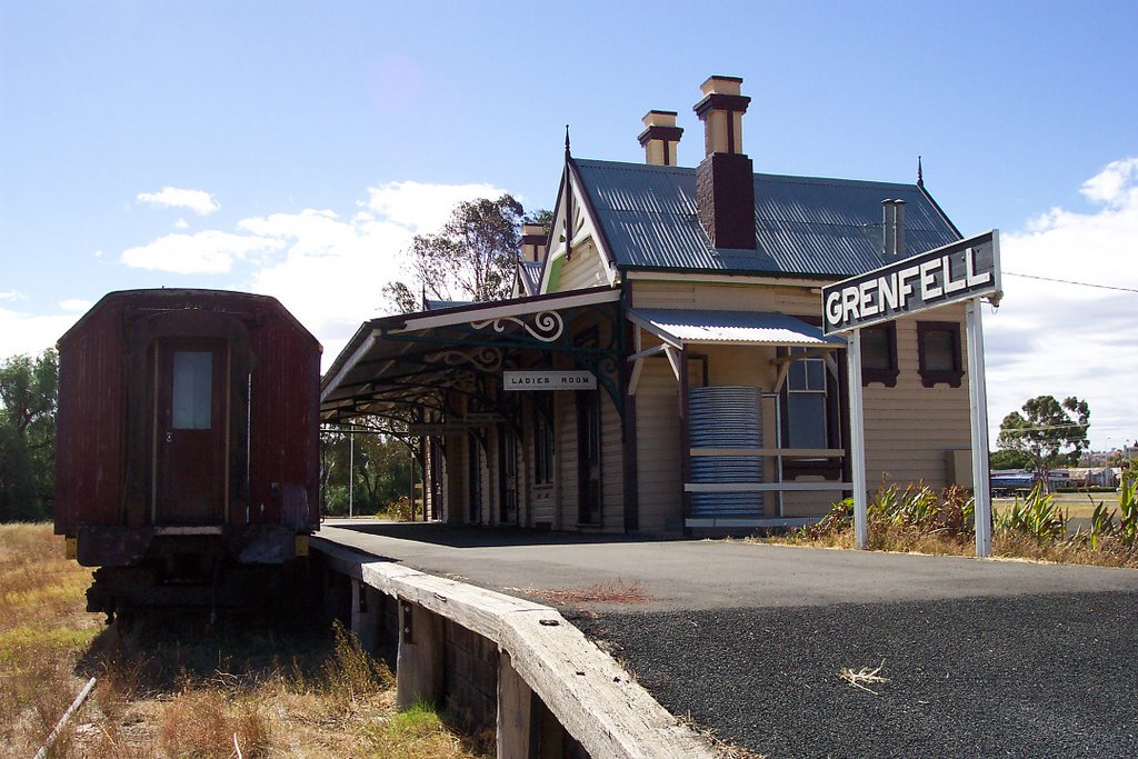 Grenfell Railway Station, NSW