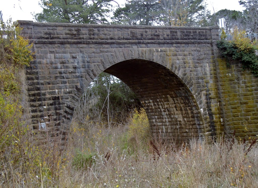 Bridge over Birch Creek Smeaton Victoria Australia