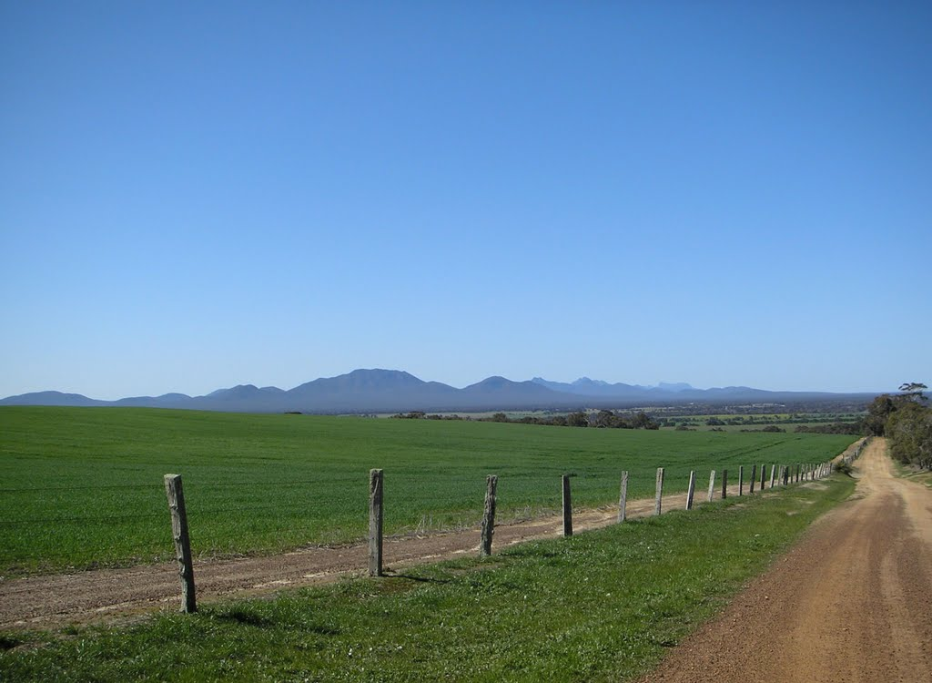 The Stirling Ranges in Winter