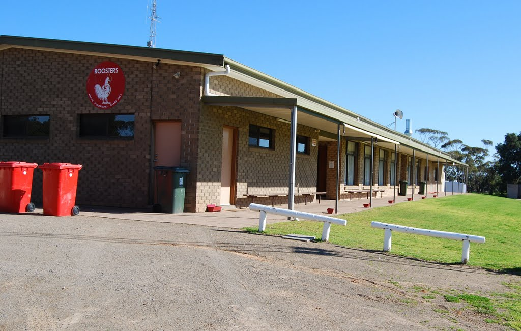 Roosters clubrooms