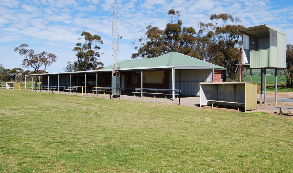 Oval clubrooms and facilities