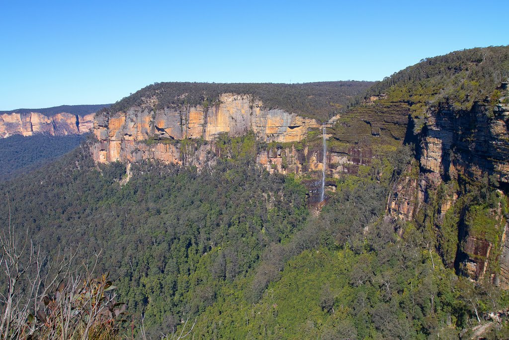 Bridal Veil Falls from Cripps Lookout