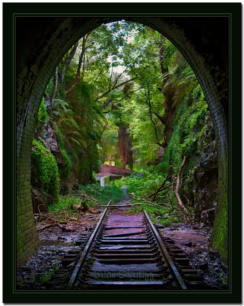 Old Railway Tunnel 2 - Helensburgh LOTR