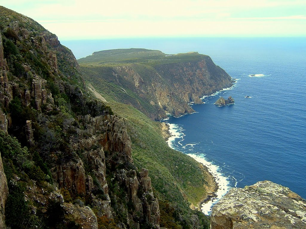Cape Raoul seen from Mount Raoul......223