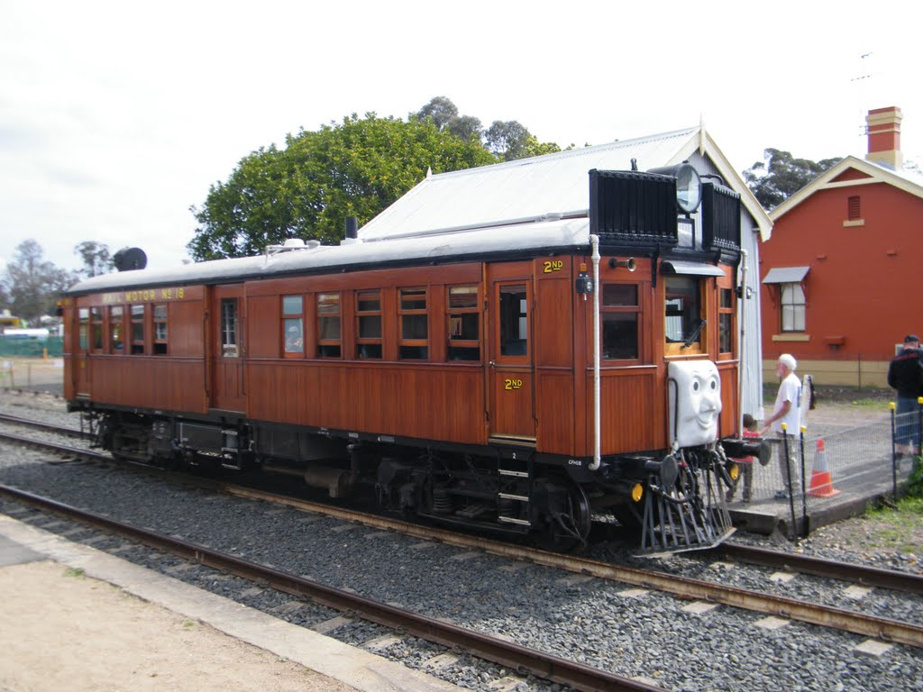 Historic Rail Motor at Thirlmere