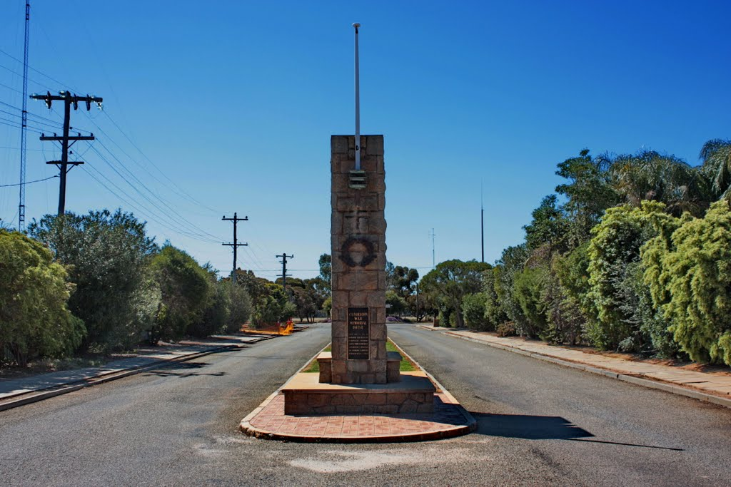 Cunderdin - War Memorial