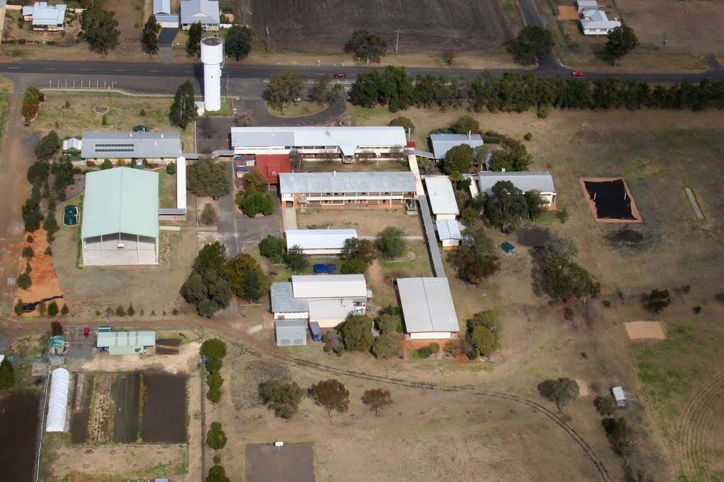 Clifton State High School, Queensland (view from N)