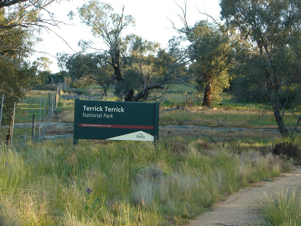 Entry to Terrick Terrick National Park