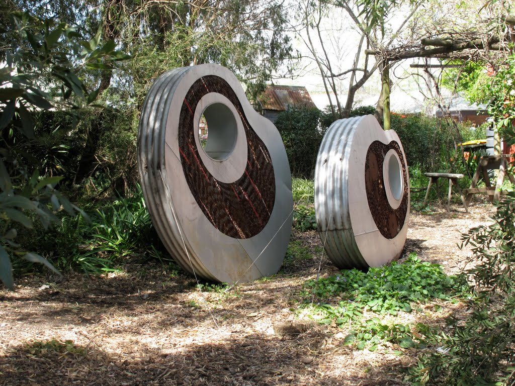 Garden Art in Berry