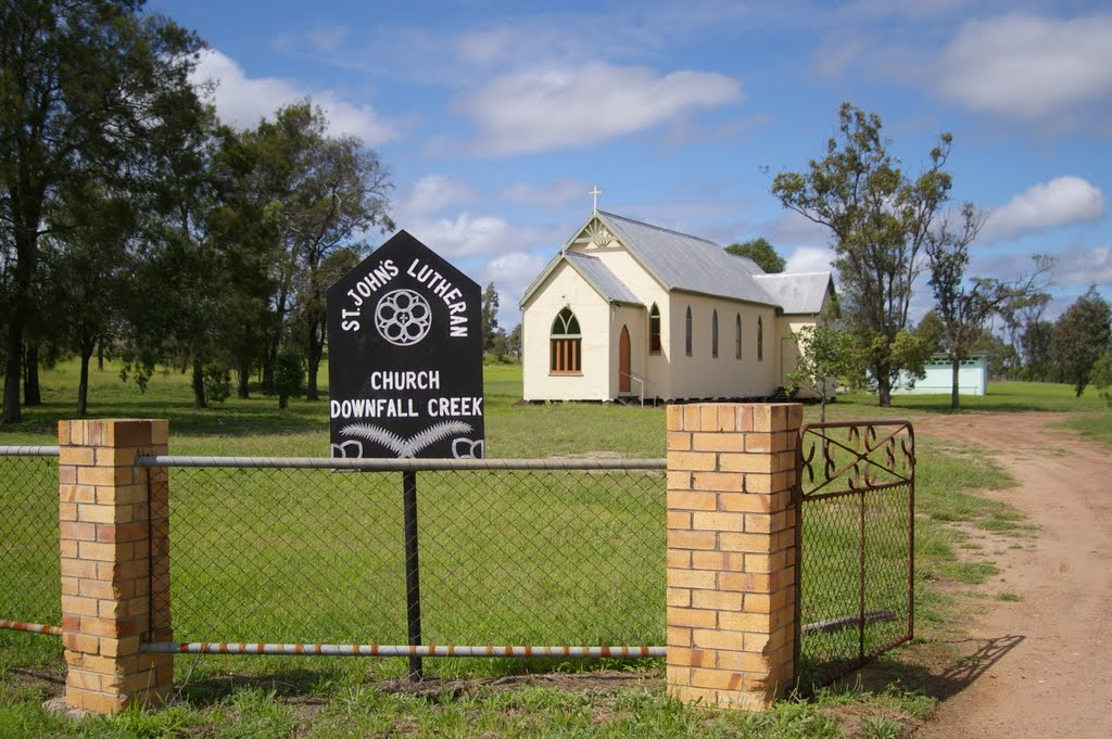 St Johns Lutheran Church, Downfall Creek