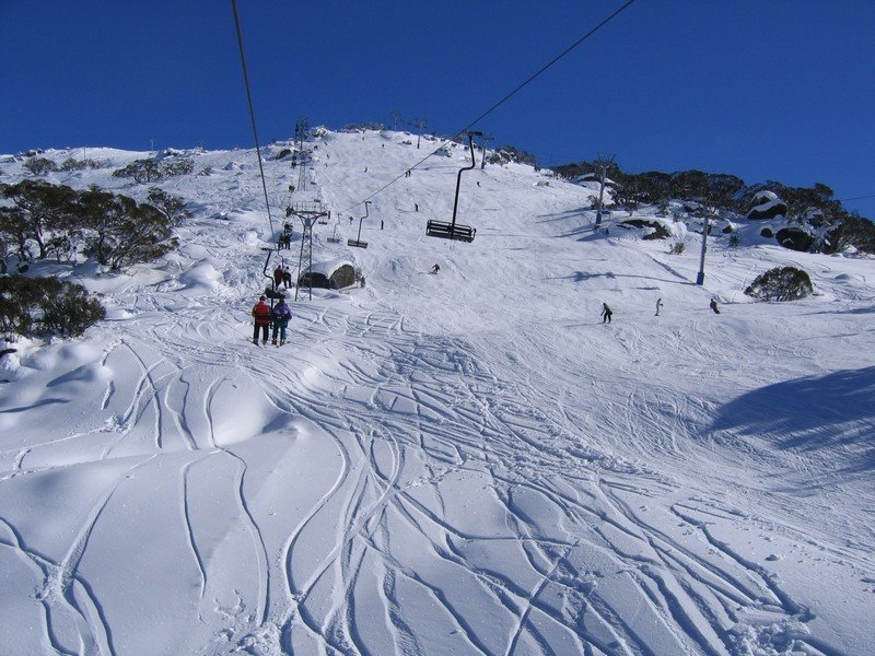 Mount Perisher in Winter