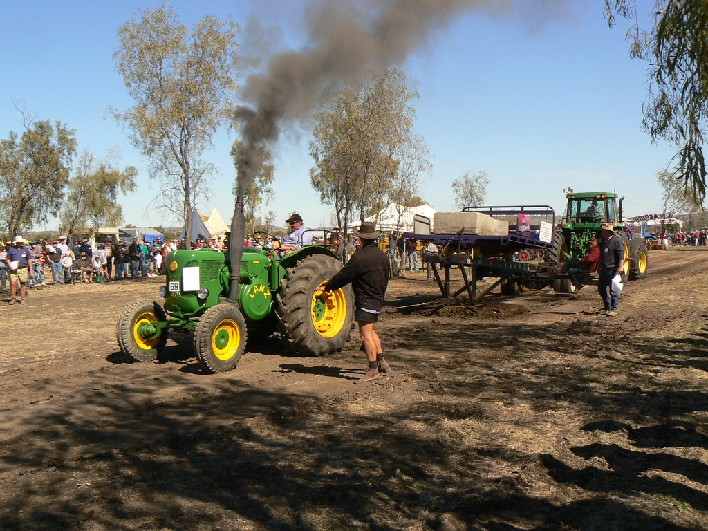 National historic machinery rally 2007 at the Silo grounds. Biloela