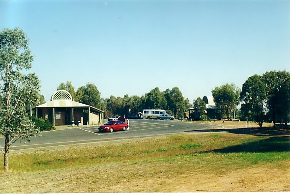 Fwy rest area, Mokan, north bound