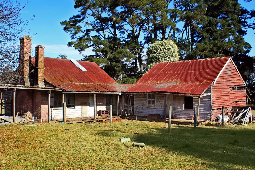 Abandoned Country Shacks near Fitzroy Falls, in the Southern Highlands