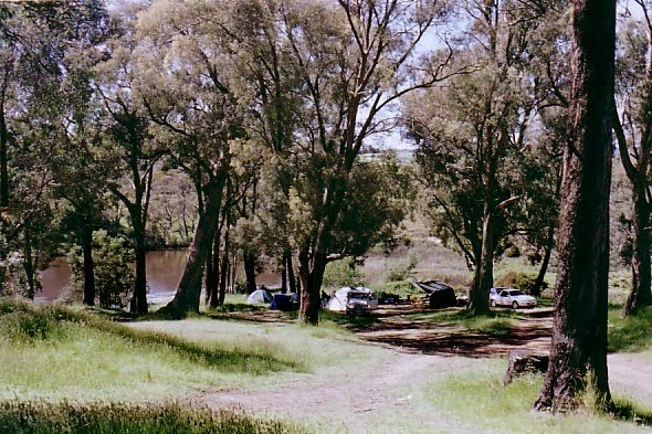 Polly McQuinnes Reserve camp ground