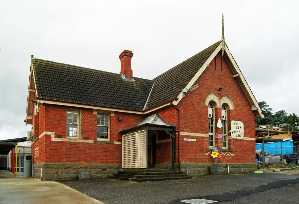 Magpie Primary School (2010) - designed by Henry Bastow, Chief Architect, Education Department, and opened in 1879