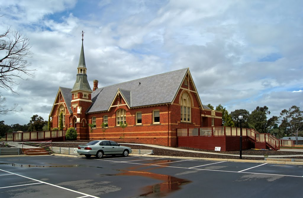 Former Maryborough Primary School (2010) - designed by Henry Bastow, Chief Architect, Education Department, and opened in 1874. This is being converted into a Retirement Village