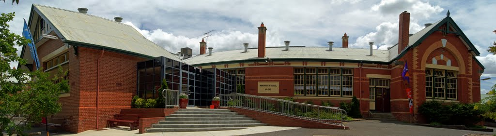 Wangaratta Primary School (2010) - designed by Henry Bastow, Chief Architect, Education Department, and opened in 1877