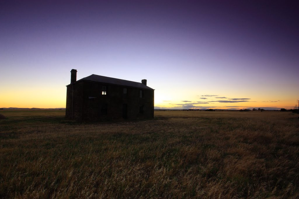 Twilight at the old homestead