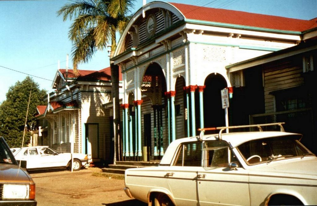 "Australia - Emerald Train Station - ""The old with red roof"" - 1980"