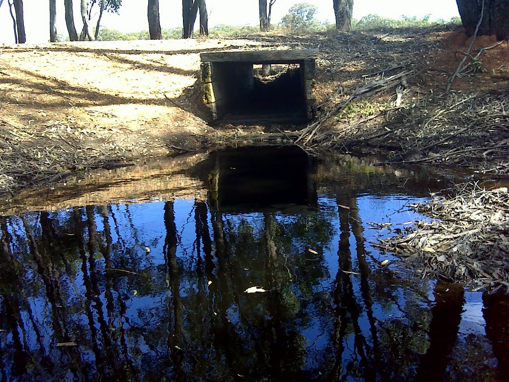 A good example of a wooden Box Culvert