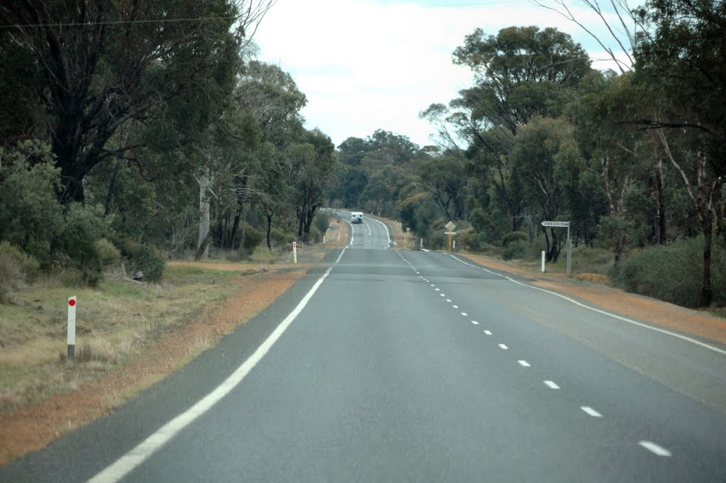 Albany Highway near Coben Soak Road