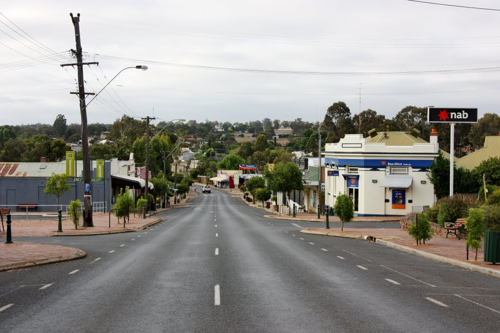 Kojonup - Main Street of Looking South