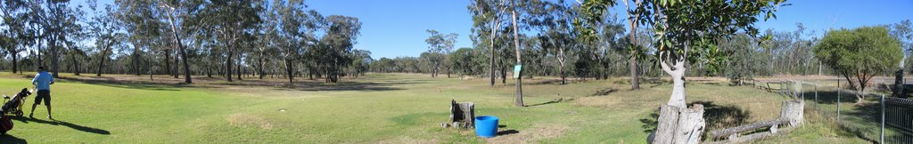 SES Golf day Stitch