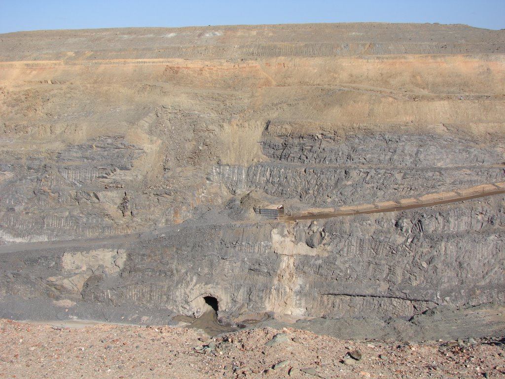 Agnew - Mine Open Pit Decline Entry
