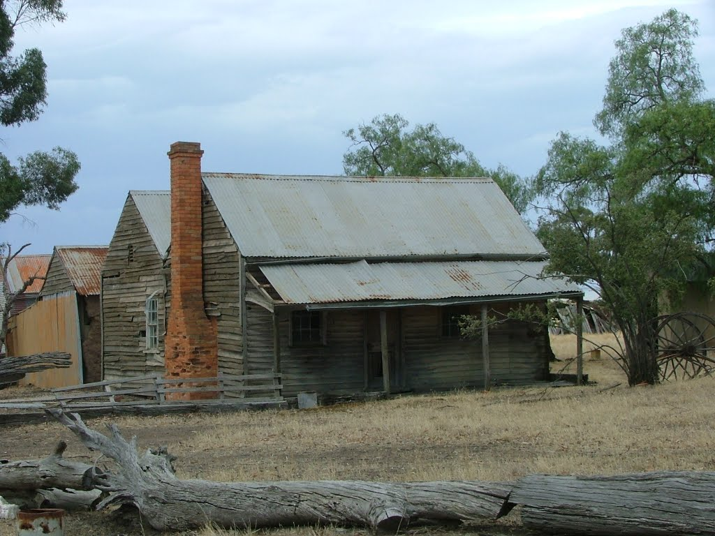 'Old Farm House' Near Rushworth Vic.