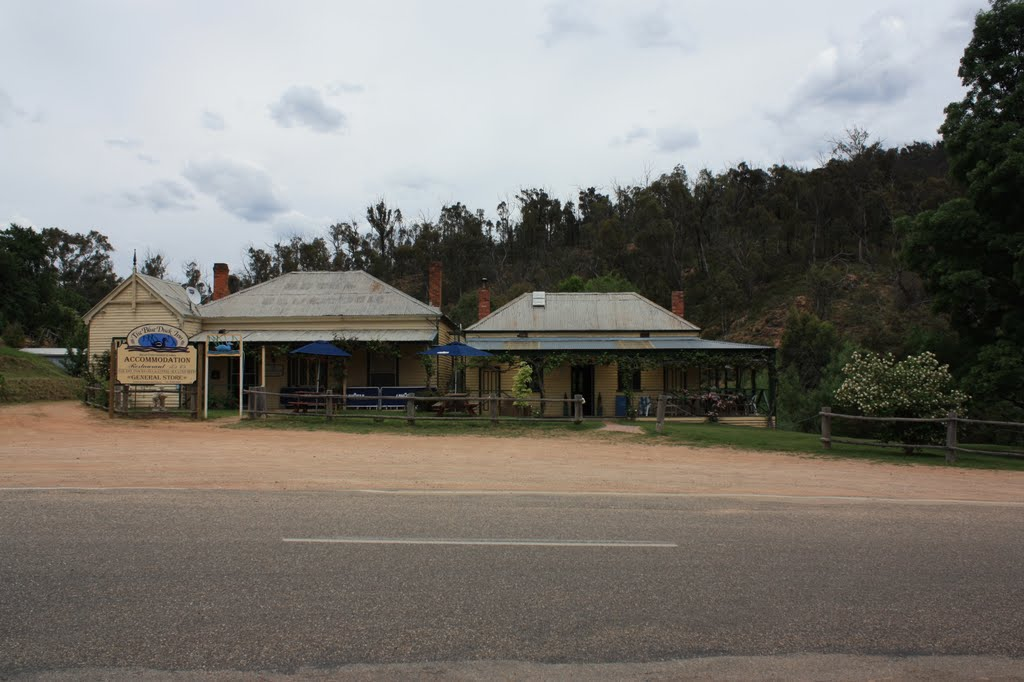 The Blue Duck Inn at Anglers Rest VIC.