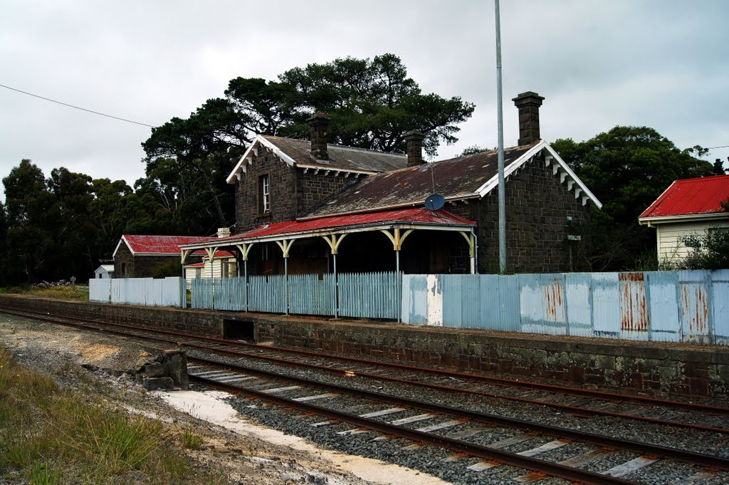 Former Lal Lal Railway Station (2011) - the railway in opened here in 1862