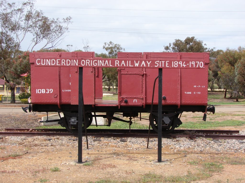 Cunderdin - Original Railway Site