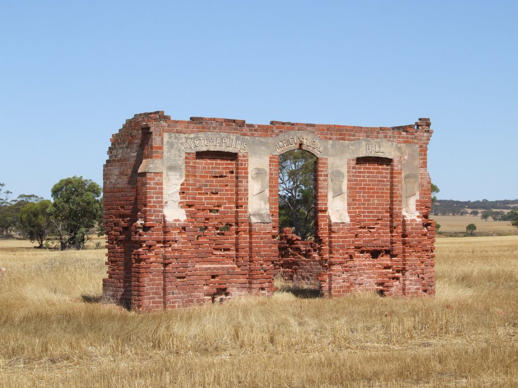 Victoria Plains Agricultural Hall Ruins, New Norcia, Western Australia
