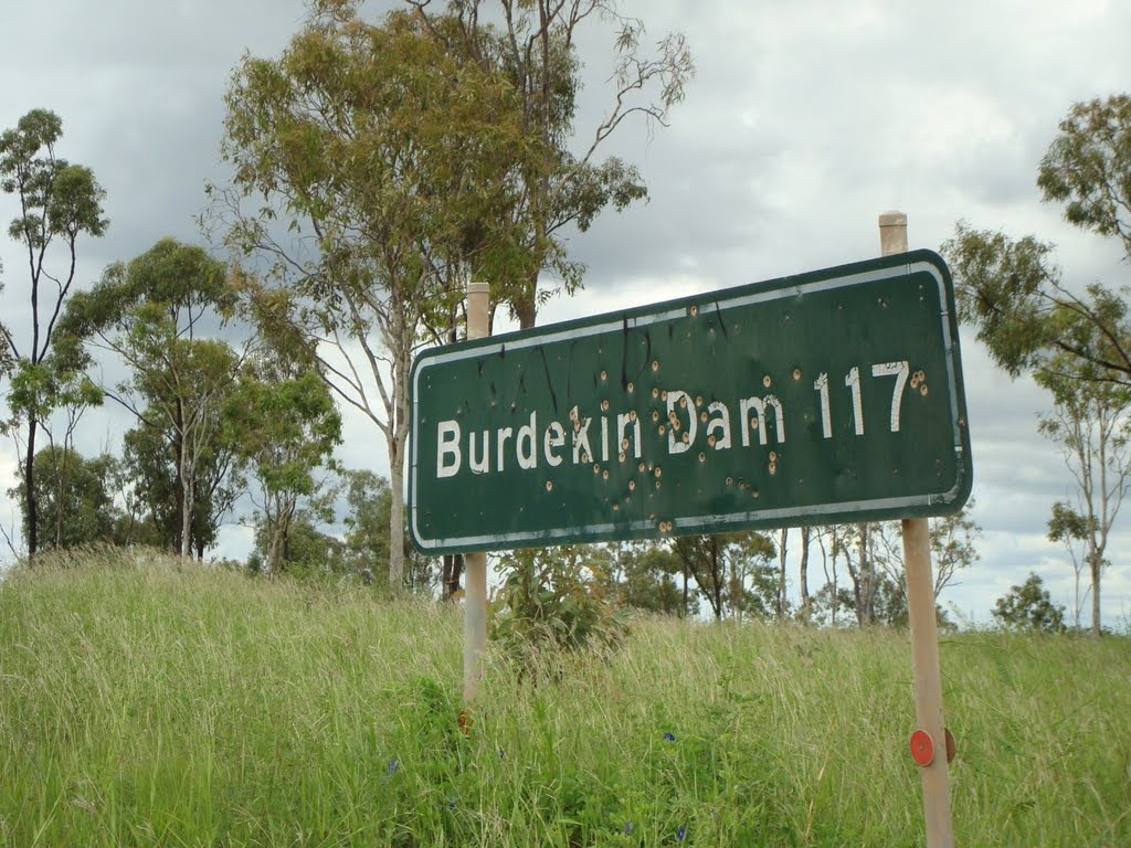 Is it so bad in Burdekin Dam?